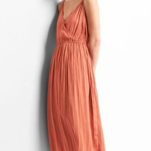 Gap Cami Pleated Midi Dress - Size Small